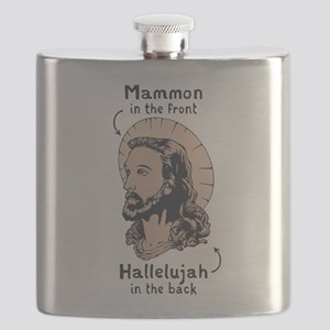 Mullet Jesus II Flask