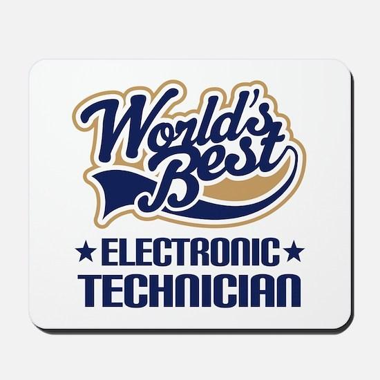 Electronic technician Mousepad