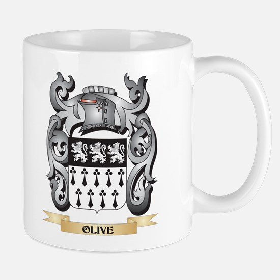 Olive Coat of Arms - Family Crest Mugs