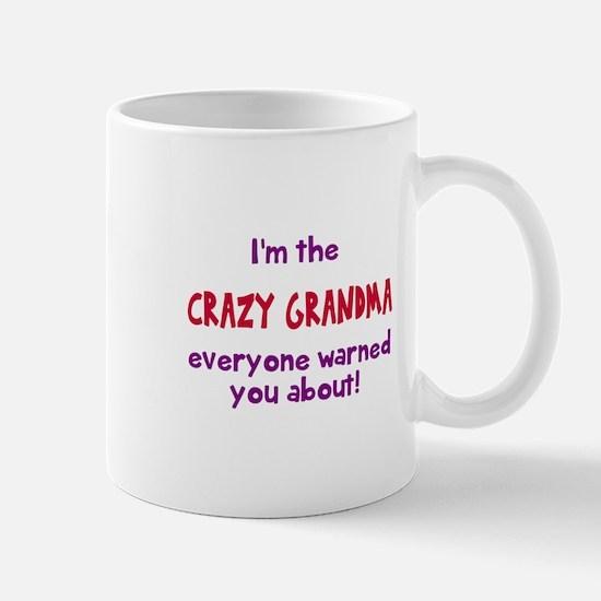 Crazy Grandma Mugs