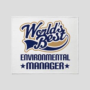 Environmental engineer Throw Blanket