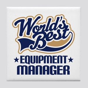 Equipment manager Tile Coaster