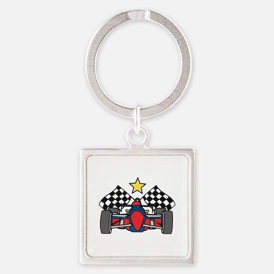 Formula One Racing Keychains