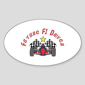 Future F1 Driver Sticker