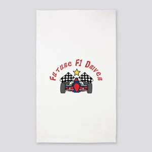 Future F1 Driver 3'x5' Area Rug