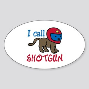 I Call Shotgun Sticker