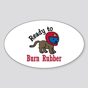 Burn Rubber Sticker