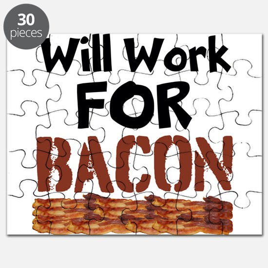Will Work For Bacon Puzzle