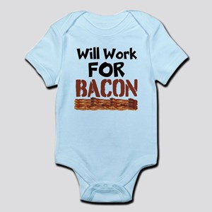Will Work For Bacon Body Suit