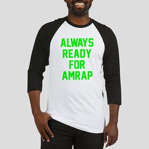 AMRAP Ready Baseball Jersey