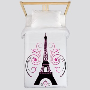 Eiffel Tower Gradient Swirl Twin Duvet