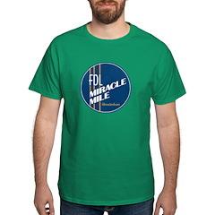 Fdl Miracle Mile Logo - Grunge Version T-Shirt