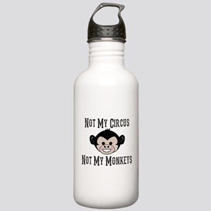 Not My Circus, Not My Monkeys (Cute) Water Bottle