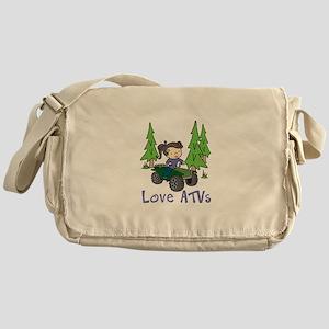 Love ATVs Messenger Bag