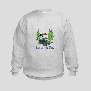 Love ATVs Sweatshirt