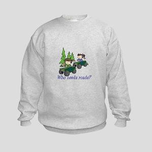 Who Needs Roads? Sweatshirt