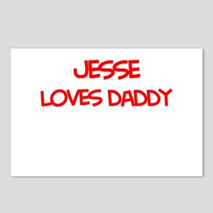 Jesse Loves Daddy Postcards (Package of 8)