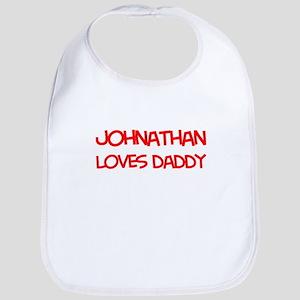 Johnathan Loves Daddy Bib