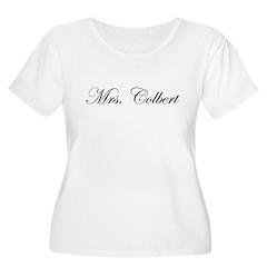 Mrs. Colbert Women's Plus Size Scoop Neck T-Shirt