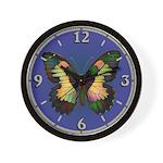 Luminous Butterfly Wall Clock
