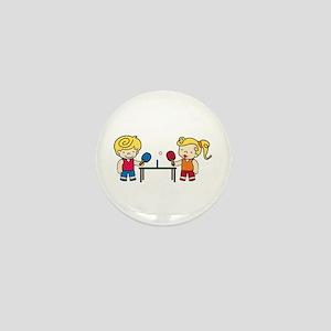 Ping Pong Kids Mini Button