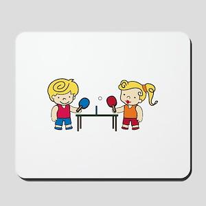 Ping Pong Kids Mousepad