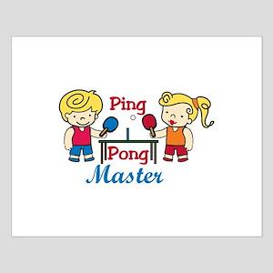 Ping Pong Master Posters