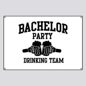Bachelor Party Drinking Team Banner