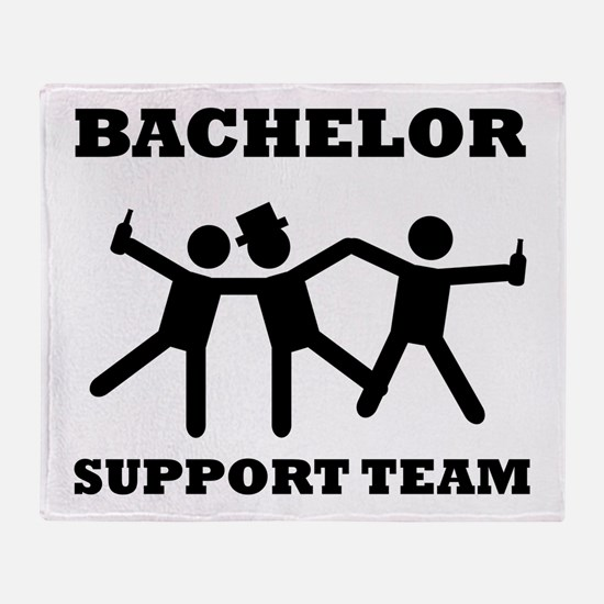 Bachelor Support Team Throw Blanket