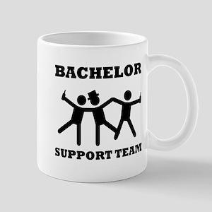 Bachelor Support Team Mugs