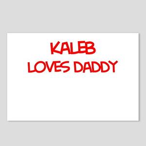 Kaleb Loves Daddy Postcards (Package of 8)