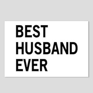 Best Husband Ever Postcards (Package of 8)