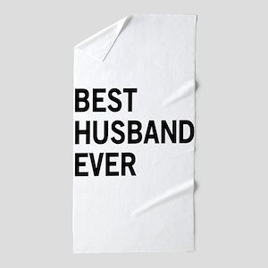Best Husband Ever Beach Towel