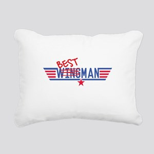 Best Man Rectangular Canvas Pillow