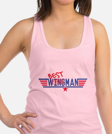 Best Man Racerback Tank Top