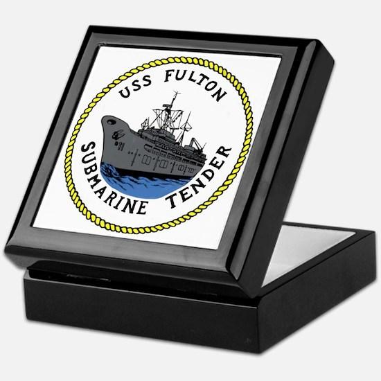 USS Fulton (AS 11) Keepsake Box