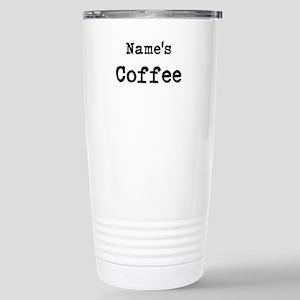 Name's Coffee Travel Mug
