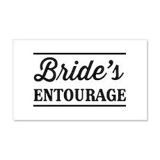Brides Entourage Wall Decal
