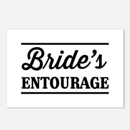 Brides Entourage Postcards (Package of 8)