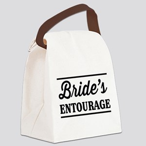 Brides Entourage Canvas Lunch Bag