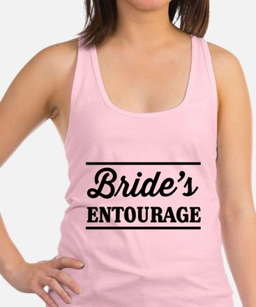 Brides Entourage Racerback Tank Top