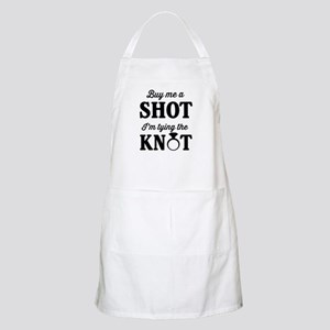 Buy Me a Shot, I'm Tying the Knot Apron