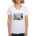 Creation / Cavalier Women's V-Neck T-Shirt