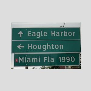 Miami, Fl sign Magnets