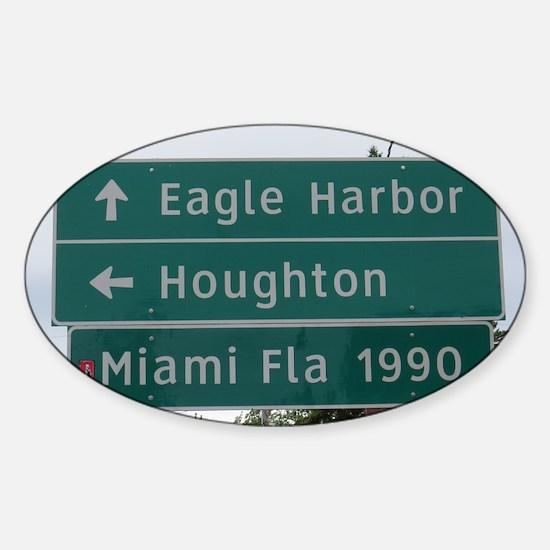 Miami, Fl sign Decal