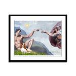 Creation / Cavalier Framed Panel Print