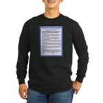Covenant on Long Sleeve Dark T-Shirt
