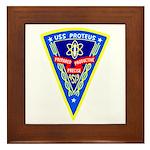 USS Proteus (AS 19) Framed Tile