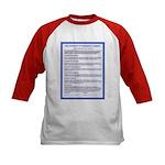Covenant on Kids Baseball Jersey