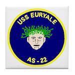 USS Euryale (AS 22) Tile Coaster